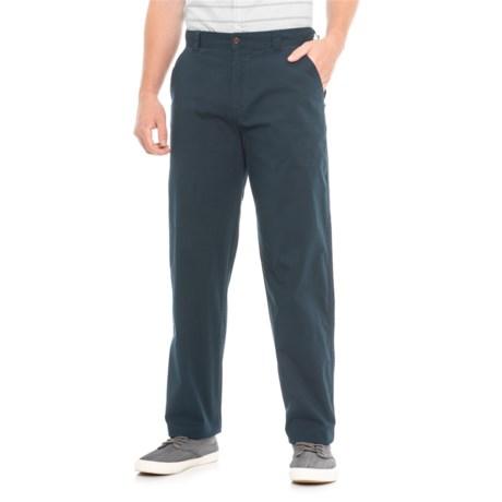 Woolrich Vista Point Pants - Organic Cotton, Classic Fit (For Men) in Deep Indigo