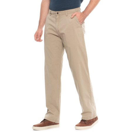 Woolrich Vista Point Pants - Organic Cotton, Classic Fit (For Men) in Khaki