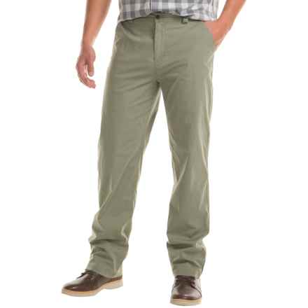 Woolrich Vista Point Pants - Organic Cotton, Classic Fit (For Men) in Lichen Green - Closeouts