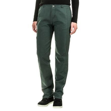 704ce106e Woolrich Vista Straight Pants (For Women) in Blue Fir - Closeouts