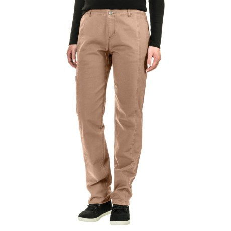 Woolrich Vista Straight Pants (For Women) in Warm Khaki