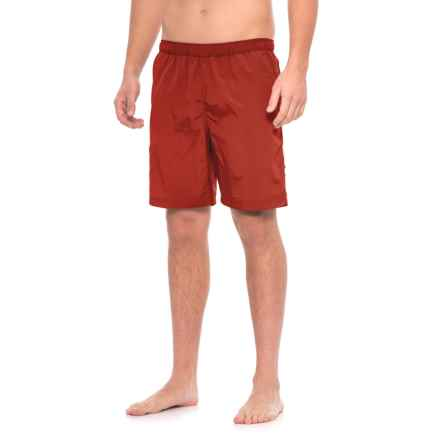 Woolrich Wading Waters Solid Swim Trunks (For Men) in Deep Indigo - Closeouts