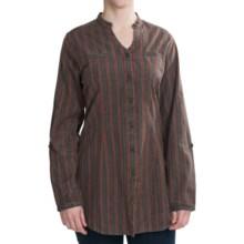 Woolrich Waterbury Tunic Shirt - Long Sleeve (For Women) in Slate - Closeouts