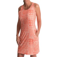 Woolrich Waters Edge Dress - Sleeveless (For Women) in Guava - Closeouts