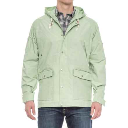 Woolrich Waxed Heritage Hooded Jacket (For Men) in Sprout - Overstock