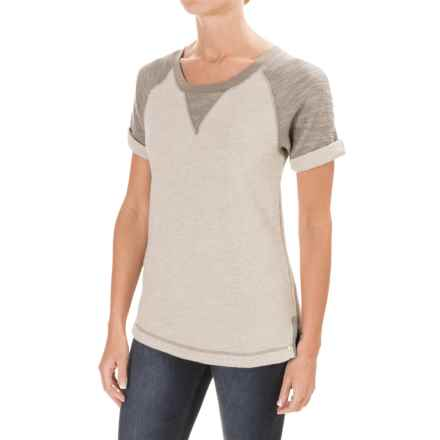 Woolrich Wayside Shirt - Short Sleeve (For Women) in Stoneware - Closeouts