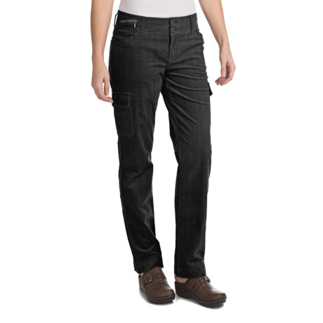 Woolrich Wellsboro Corduroy Cargo Pants (For Women) in Black