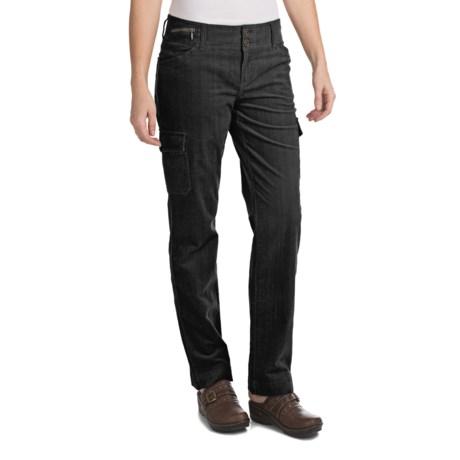 Woolrich Wellsboro Corduroy Cargo Pants (For Women) in Blk Black