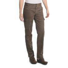 Woolrich Wellsboro Corduroy Cargo Pants (For Women) in Dark Shale - Closeouts