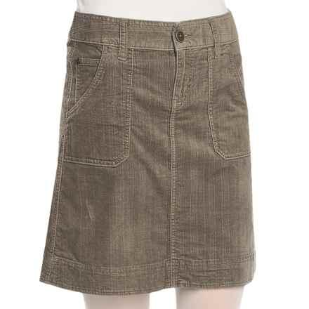 Woolrich Wellsboro Corduroy Skirt (For Women) in Dark Shale - Closeouts