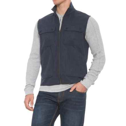 Woolrich West Ridge Vest (For Men) in Dit - Dp Indigo Heather - Overstock