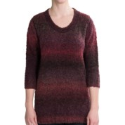 Woolrich West Wind Pullover Sweater - 3/4 Sleeve (For Women)