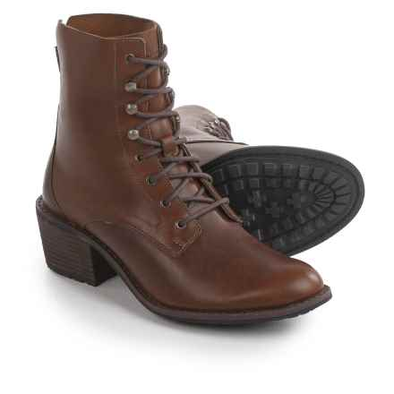 Woolrich Western Territory Boots - Leather (For Women) in Ginger - Closeouts