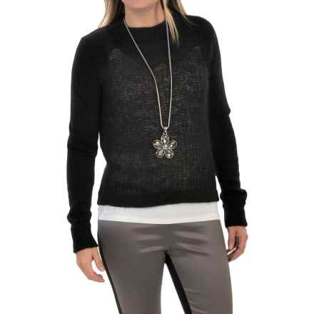 Woolrich White Label Mountain Crew Sweater (For Women) in Black - Closeouts