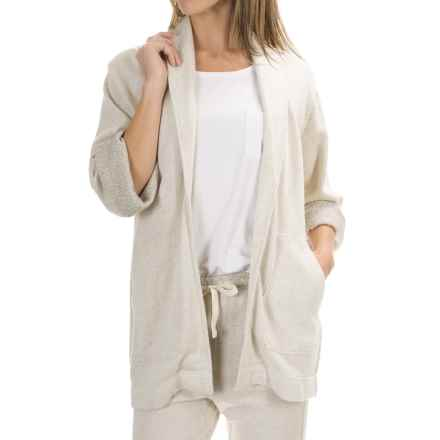 Woolrich White Label Natural Cardigan Sweater (For Women) in Natural - Closeouts