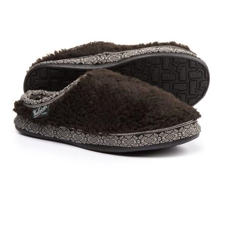 Woolrich Whitecap Mule Fleece Slippers (For Women) in Java