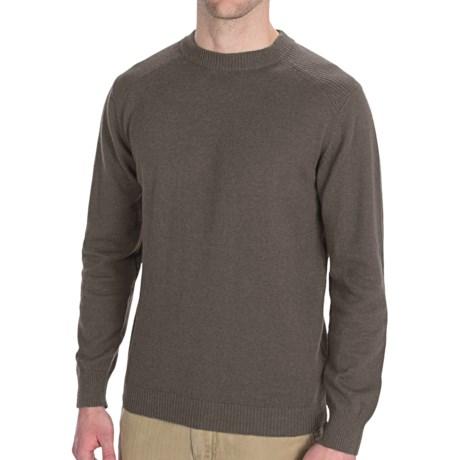 Woolrich Windward Sweater (For Men) in Deep Navy Heather