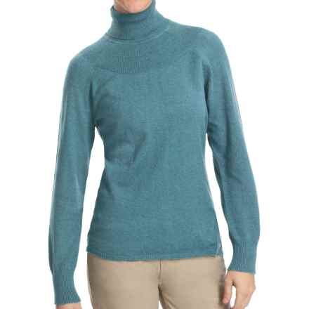 Woolrich Windward Turtleneck - Long Sleeve (For Women) in Atlantic Heather - Closeouts