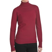 Woolrich Windward Turtleneck - Long Sleeve (For Women) in Heirloom Red Heather - Closeouts
