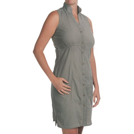 Woolrich Windwood Dress - UPF 50+, Ripstop Nylon, Sleeveless (For Women) in Shale