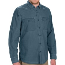Woolrich Windwood II Convertible Shirt - UPF 50, Roll-Up Long Sleeve (For Men) in Cadet Blue - Closeouts
