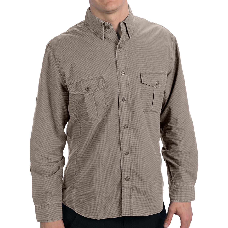 Woolrich windwood shirt upf 50 long sleeve for men for Men s upf long sleeve shirt