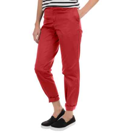 Woolrich Wood Dove Chino Twill Pants (For Women) in Carmine - Closeouts