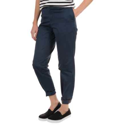 Woolrich Wood Dove Chino Twill Pants (For Women) in Deep Indigo - Closeouts