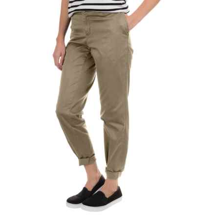 Woolrich Wood Dove Chino Twill Pants (For Women) in Khaki - Closeouts