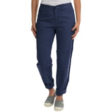Woolrich Wood Dove Classic Chino Pants (For Women) in Deep Indigo - Closeouts