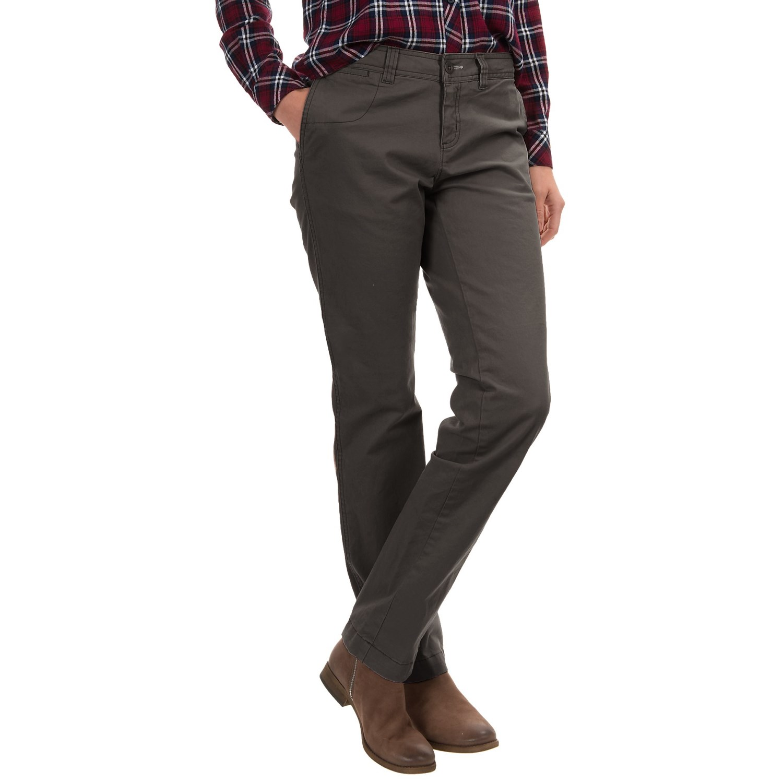 Perfect  Pants Chinos Trap Skateboards Nova Chino Pants Women Sudan Brown
