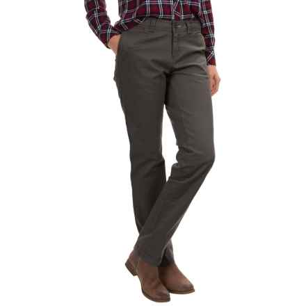 Woolrich Wood Dove Modern Chino Pants (For Women) in Slate - Closeouts