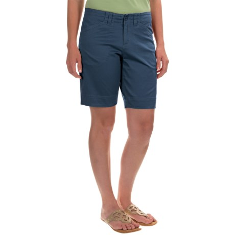 Woolrich Wood Dove Shorts Curved Fit (For Women)