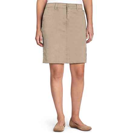 Woolrich Wood Dove Skirt - Reflex Stretch, UPF 50+ (For Women) in Khaki - Closeouts