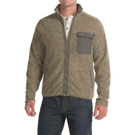 Woolrich Woodland Fleece Jacket (For Men) in Khaki - Closeouts