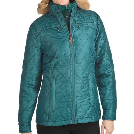 Woolrich Woodlands Quilted Jacket (For Women) in Atlantic