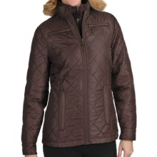 Woolrich Woodlands Quilted Jacket (For Women) in Dark Roast - Closeouts