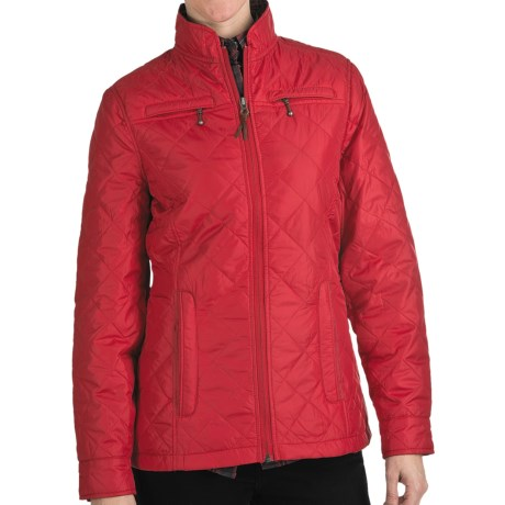 Woolrich Woodlands Quilted Jacket (For Women) in Heirloom Red