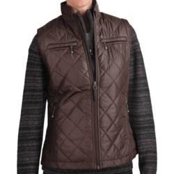 Woolrich Woodlands Vest (For Women) in Dark Roast