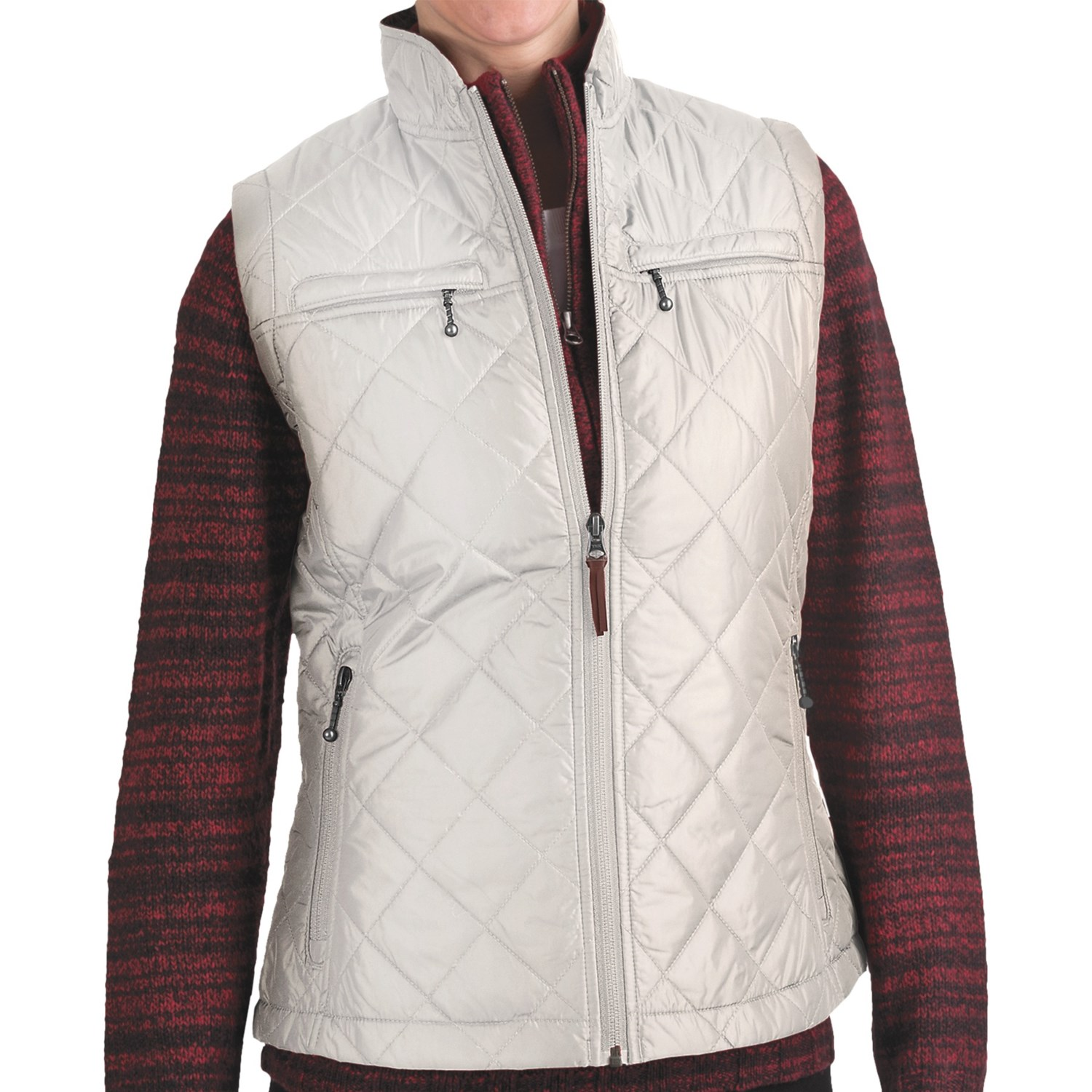 Woolrich Woodlands Vest (For Women) in Winter White