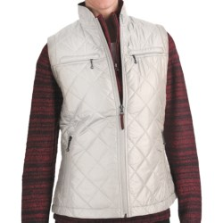 Woolrich Woodlands Vest (For Women) in Dark Roast