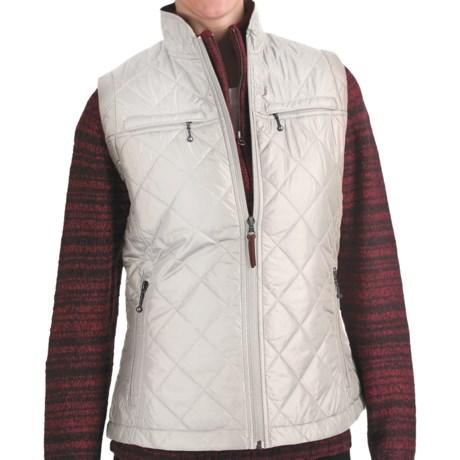 Woolrich Woodlands Vest (For Women) in Winter White