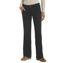 Woolrich Woodlyn Wool Tweed Pants - Bootcut (For Women) in Onyx - Closeouts