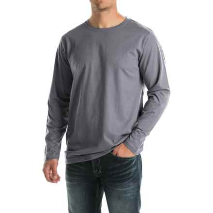 Woolrich Woodward T-Shirt - Long Sleeve (For Men) in Navy - Closeouts