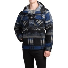 Woolrich Wool Mountain Popover Jacket (For Men) in Black - Closeouts