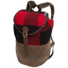 Woolrich Wool Summit Pack in Red - Closeouts