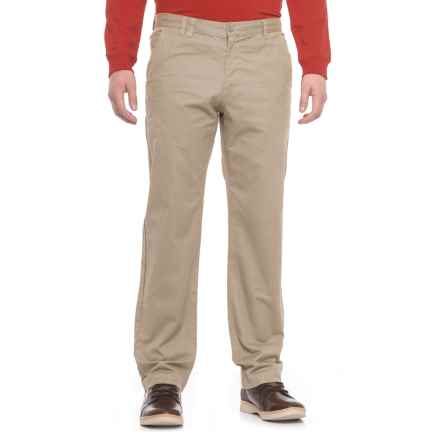 Woolrich Zip-Pocket Chino Pants (For Men) in Khaki - Closeouts