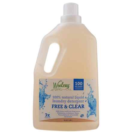 Woolzies 100% Natural Liquid Laundry Detergent in Free N Clear - Overstock