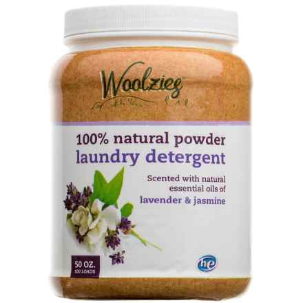 Woolzies 100% Natural Powder Laundry Detergent - 100 Loads in Lavender/Jasmine - Closeouts