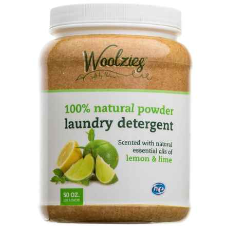 Woolzies 100% Natural Powder Laundry Detergent - 100 Loads in Lemon/Lime - Closeouts